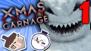 Xmas Carnage: Scary Snowmen - PART 1 - Steam Train