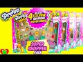 Shopkins GIANT Super Shopper Pack Season 3 with 4 Exclusives Per Pack