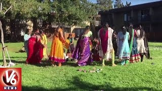 Bathukamma Festival Celebrations In California | USA NRI News