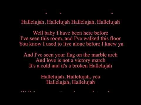 Kate Voegele - Hallelujah (karaoke)