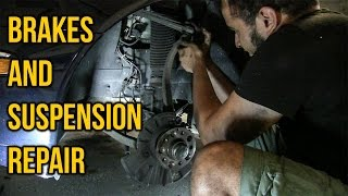 Ultimate Daily Driver S-Class Pt 2 - Brakes And Suspension Repair