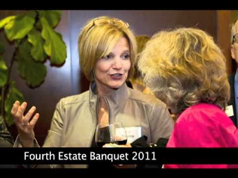 Screenshot of Fourth Estate Banquet 2011 Youtube video