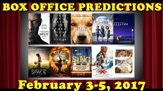 Weekend Box Office Predictions | February 3-5, 2017
