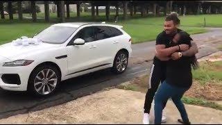 Athletes Surprising Family/Fans With Homes and Cars Compilation!