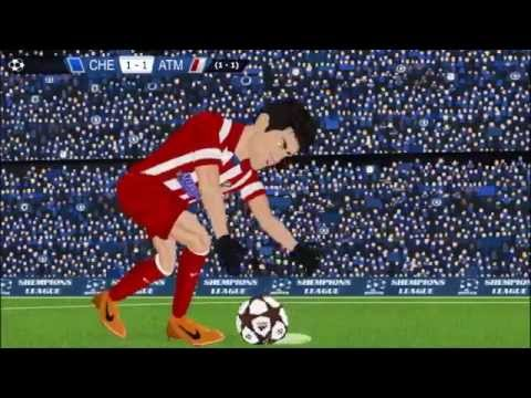 Chelsea 1 3 Atlético Madrid Champions League 1 5 14 Parodia