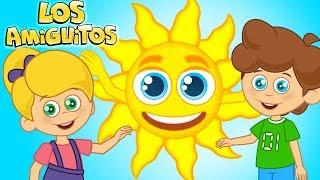 Sol Solecito Caliéntame un Poquito | Sol Solecito Luna Lunera Cancion Infantil | Los Amiguitos