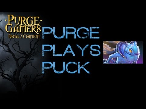 Dota 2 Purge plays Puck