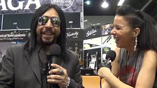 Sin Quirin of Ministry, 3 Headed Snake & Lords of Acid Interview at NAMM
