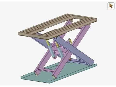 Scissor Lift Mechanism Scissor Lift Mechanism