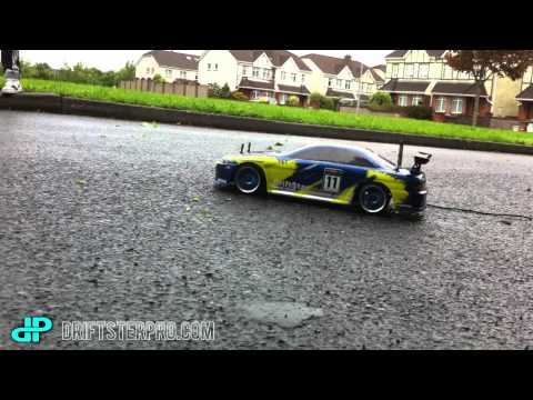 Exceed Rc Drift Car 1/10th Scale Wet Road 2012 - HD Ireland