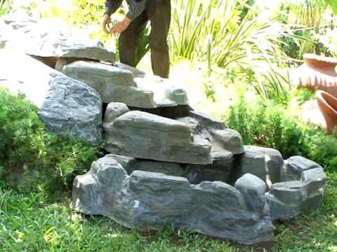 Dise o de cascadas y jardines en tucuman argentina for Cascada de agua para jardin