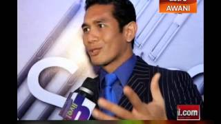 Fahrin Ahmad seronok berkongsi pengalaman