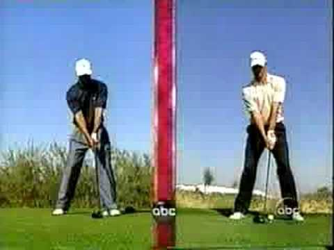 Side By Side - Tiger Woods & Adam Scott