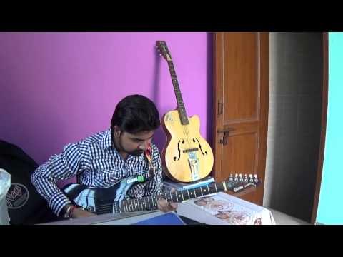 Gulabi aankhen jo teri dekhi on guitar