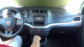 """2011-2018 Dodge Journey 4"""" to 8.4"""" Factory GPS Navigation Upgrade - Easy Plug & Play Install!"""