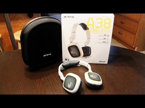 New Astro A38 Wireless Bluetooth Headphones Unboxing/Mini Review!