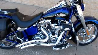 "Screamin eagle Softail Convertable, 110"" Six Speed, Vance & Hines"