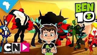Ben 10 l Meet the Aliens   Cartoon Network