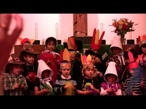 Jami Prince of Peace preschool performance Nov. 21st, 2012 - Part 1