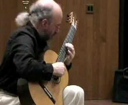 El Mestre by Llobet -- William Ghezzi - Classical Guitar
