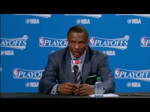 Raptors Post-Game: Dwane Casey - April 26, 2016