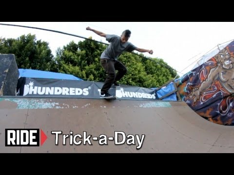 How-To Backside Nosepick with Tony Karr - Trick-a-Day