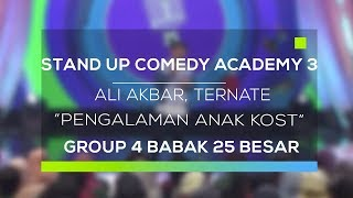 Stand Up Comedy Academy 3  Ali Akbar, Ternate - Pengalaman Anak Kost