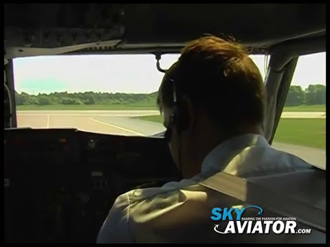 Cockpit Video Estonian Air Boeing 737-500 TLL-OSL-TLL FULL MOVIE