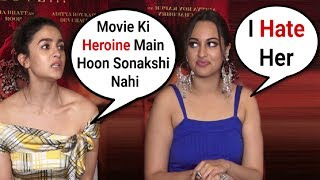 Alia Bhatt Gets Angry For Sonakshi Sinha Getting More Attention From Media At Kalank Promotion