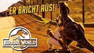 DINO frisst Parkbesucher | Jurassic World Evolution Let's Play