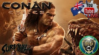🔴 Conan Exiles 🔴 Wait This Is An Open World Survival Game????