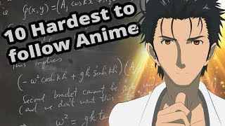 10 Anime That are Almost Too hard to follow