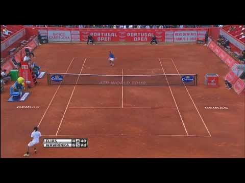 Wawrinka Reaches Oeiras SFs In Highlights