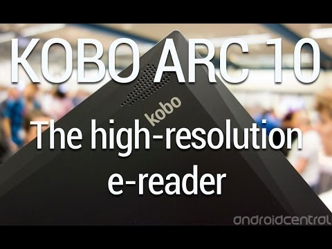 Kobo Arc 10 HD video walkthrough