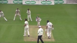 Yorkshire vs Somerset Day 2 at North Marine Road, Scarborough.