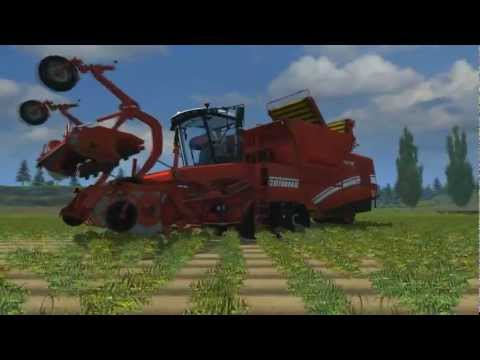 Farming Simulator 2013 - Garage Trailer Vehicle Showcase