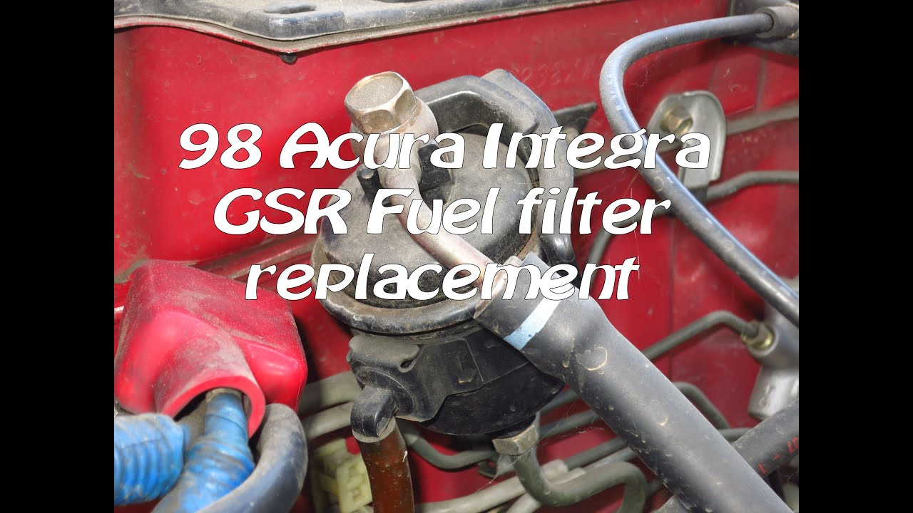 1994-2001 Acura Integra Gsr Fuel Filter Replacement