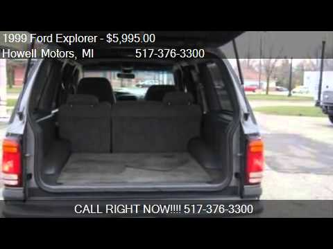1999 Ford Explorer XLT 4WD - for sale in Howell, MI 48843