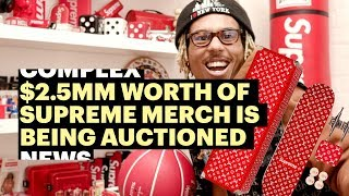 $2.5MM Supreme Collection Being Auctioned in L.A. Gallery