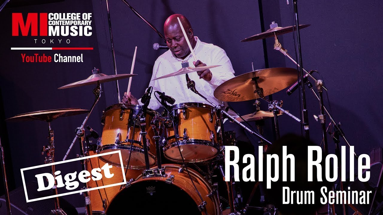 Ralph Rolle (Chic) - 2019.09.21 Musicians Institute TOKYOにて行われたドラム・セミナーのダイジェスト映像を公開 thm Music info Clip