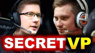 SECRET vs VP - INCREDIBLE EPIC GAME! - STOCKHOLM MAJOR DreamLeague DOTA 2