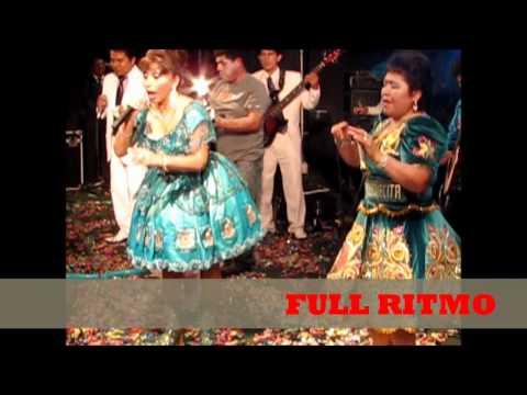 Anita santiváñez y Flor Pileña, full ritmo.wmv