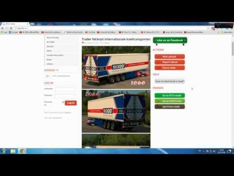 วิธีลง Mod Euro Truck Simulator 2
