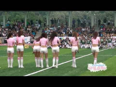 Fancam 100522 SNSD - FanyKick + Oh! + GeeNamyangju Central Stadium...