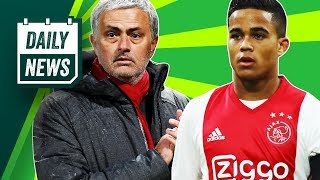 TRANSFERS and WORLD CUP NEWS: Kluivert to Roma, Man United target Spurs stars + Federico Chiesa