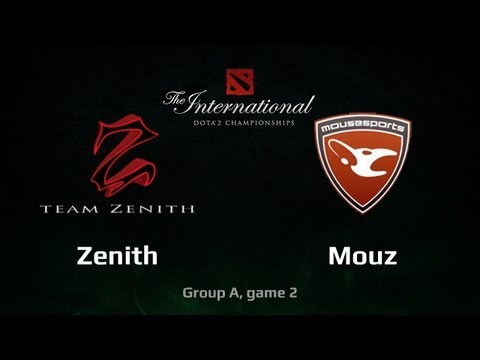 Mouz vs Zenith, TI3 Group A, game 2