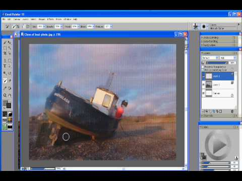 Corel Painter 11 Photo Painting Tutorial