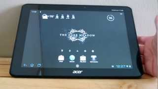 Acer Iconia Tab A510 Hands-On and Revew