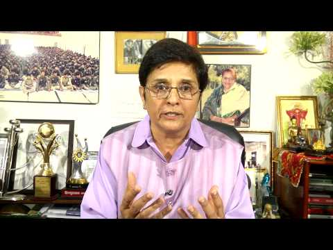 Dr. Kiran Bedi appeals to the nation to vote for Mr. Modi