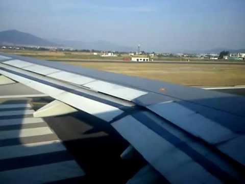 Cyprus Airways take off from Thessaloniki International Airport